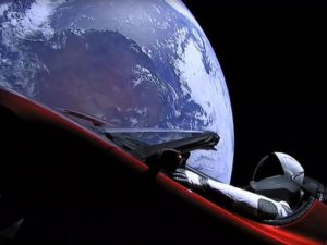 SpaceX Starman, Tesla