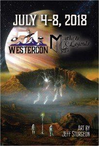 Westercon 71 Postcard