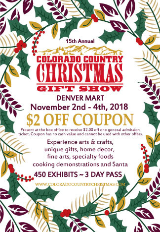 Colorado Xmas Show coupon