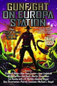 """Cover - """"Gunfight at Europa Station"""""""