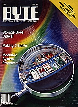 Cover, BYTE May 1986